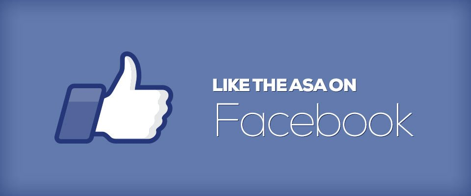 Like the ASA on Facebook