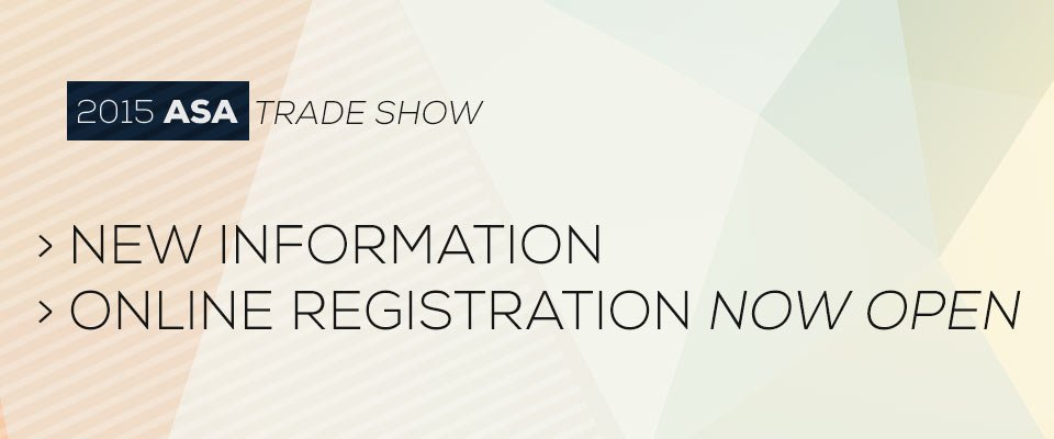 2015 ASA Trade Show