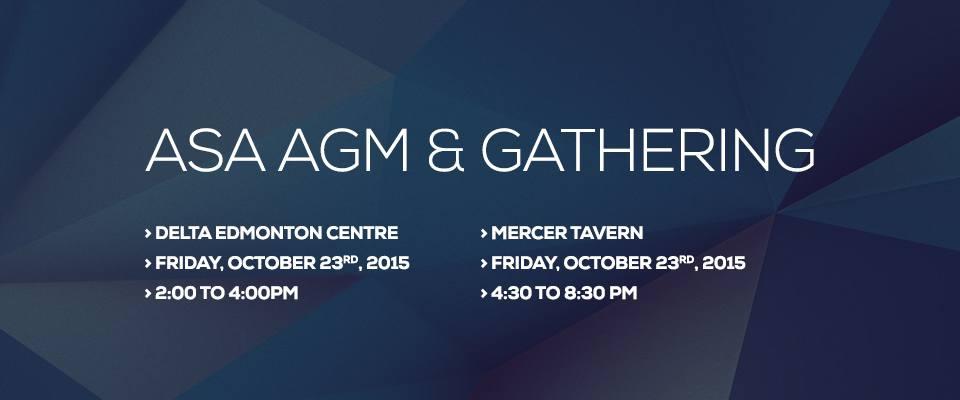 ASA AGM & Gathering